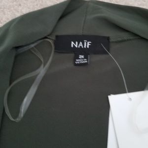 Naïf Tops - NWT Women's Cardigan with Built In Blouse